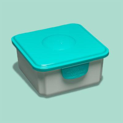 Cheeky Wipes doos voor propere doekjes nieuw blauw - De Luierhoek, wasbare luiers
