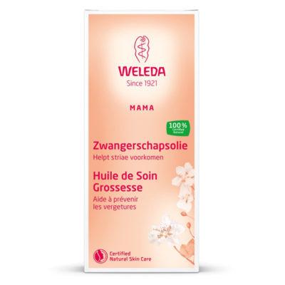 weleda-zwangerschapsolie-100ml - De Luierhoek, natuurlijke verzorging