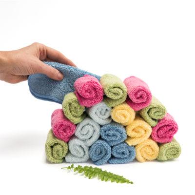 Cheeky wipes doekjes Premium biokatoen rainbow - De Luierhoek, wasbare luiers en natuurlijke verzorging