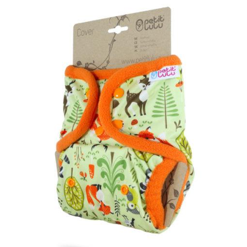 Petit Lulu overbroekje drukknopen Forest Animals-