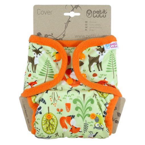 Petit Lulu overbroekje drukknopen Forest Animals