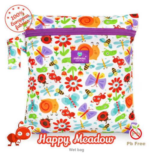 Milovia luiertas Happy Meadow - De Luierhoek, wasbare luiers