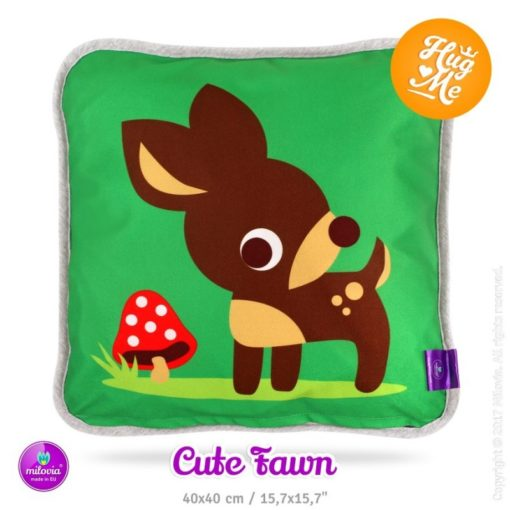 Milovia kussen Cute Fawn - De Luierhoek, wasbare luiers