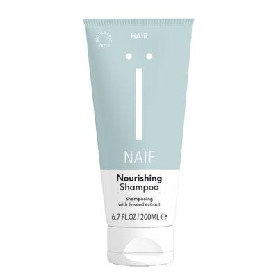 Naif-voedende-shampoo-mama-200ml-De Luierhoek, natuurlijke verzorging