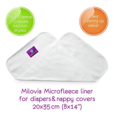 Milovia Stay Dry Inlegger - De Luierhoek, wasbare luiers