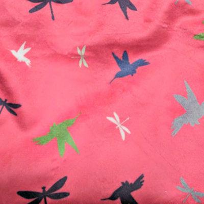 Cheeky Wipes bamboe doekjes Birds Roze - De Luierhoek, natuurlijke verzorging