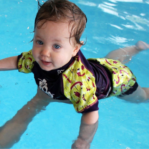 Close zwemluier Lala and Bugsy zwembad - De Luierhoek, wasbare luiers