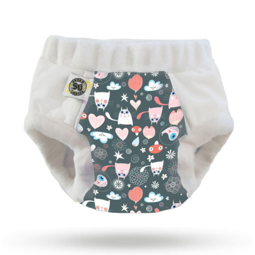 Nachtluiers Nighttime Undies Super Undies Putty That - De Luierhoek, wasbare luiers
