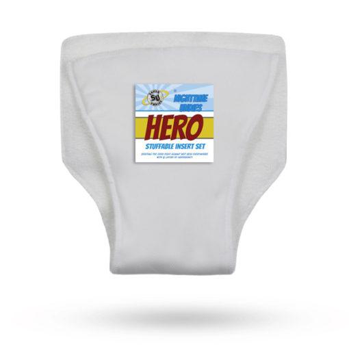 Super Undies inlegger Hero Microvezel - De Luierhoek, wasbare luiers