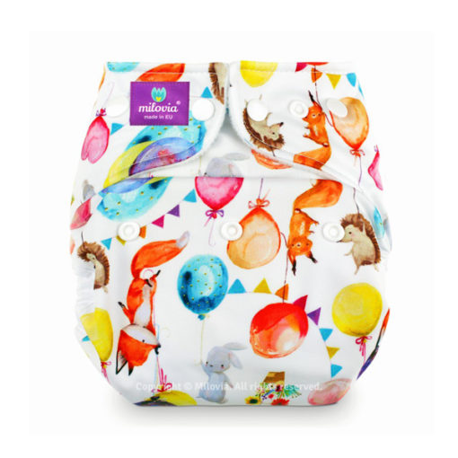 milovia nappy cover one size Following Dreams - De luierhoek,w asbare luiers - kopie