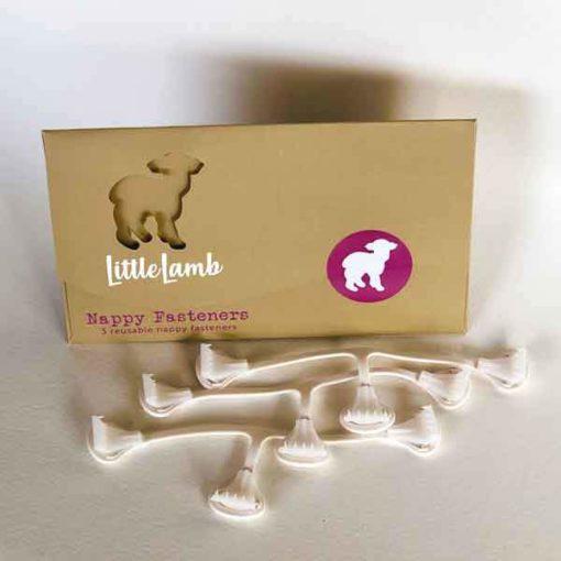 Little Lamb luierklemmetjes - De Luierhoek, wasbare luiers