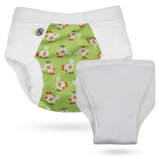 Super Undies Hero Undies Chickn's - De Luierhoek, wasbare luiers