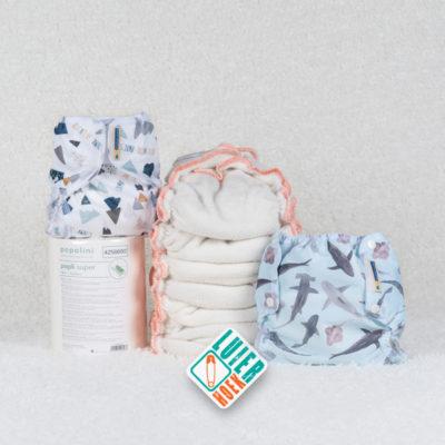 Proefpakket Lulu Bamboe - De Luierhoek, wasbare luiers