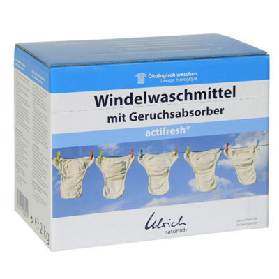 Ecologisch waspoeder Ulrich Naturlich - De Luierhoek, wasbare luiers