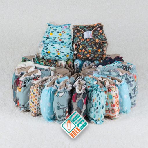 Voordeelpakket Petit Lulu Bamboe - De Luierhoek, wasbare luiers