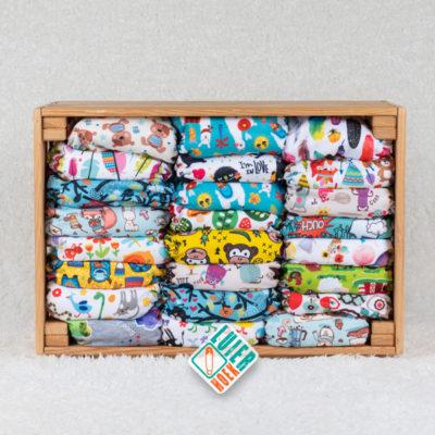 Voordeelpakket Milovia Pocket - De Luierhoek, wasbare luliers