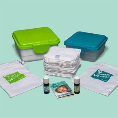 Cheeky Wipes maxi kit wasbare doekjes - De Luierhoek, natuurlijke verzorging