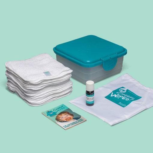 Cheeky Wipes mini kit wasbare doekjes - De Luierhoek, natuurlijke verzorging