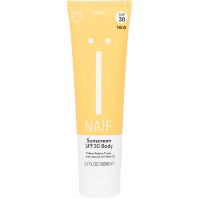 Naif Grown Ups Sunscreen SPF30 Body - De Luierhoek, natuurlijke verzorgingkopie