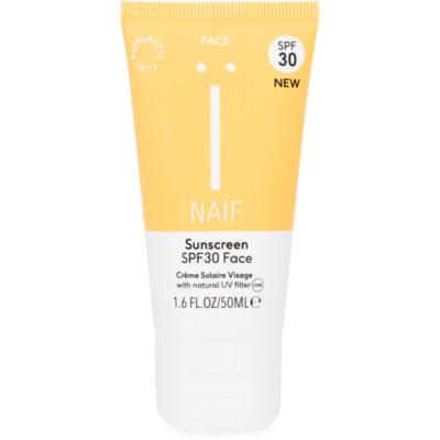 Naif Grown Ups Sunscreen SPF30 Face - De Luierhoek, natuurlijke verzorgingkopie