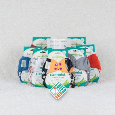 Proefpakket bumGenius Elemental - De Luierhoek, wasbare luiers
