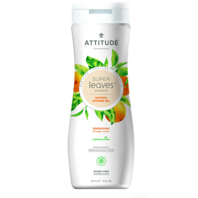 Attitude Super Leaves Body Wash Energizing - De Luierhoek, natuurlijke verzorging