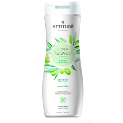 Attitude Super Leaves Body Wash Nourishing - De Luierhoek, natuurlijke verzorging