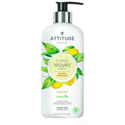 Attitude Super Leaves Hand Soap Lemon Leaves - De Luierhoek, natuurlijke verzorging