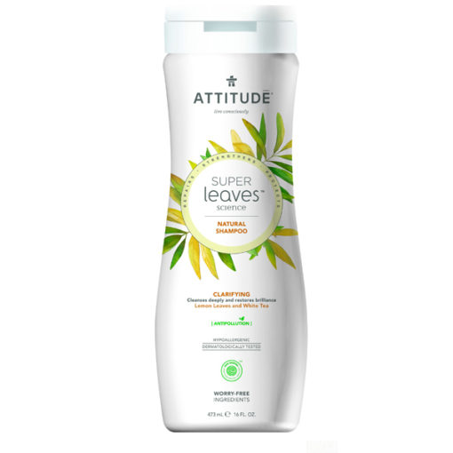 Attitude Super Leaves Shampoo Clarifying - De Luierhoek, natuurlijke verzorging