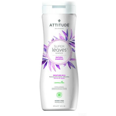 Attitude Super Leaves Shampoo Moisture Rich - De Luierhoek, natuurlijke verzorging