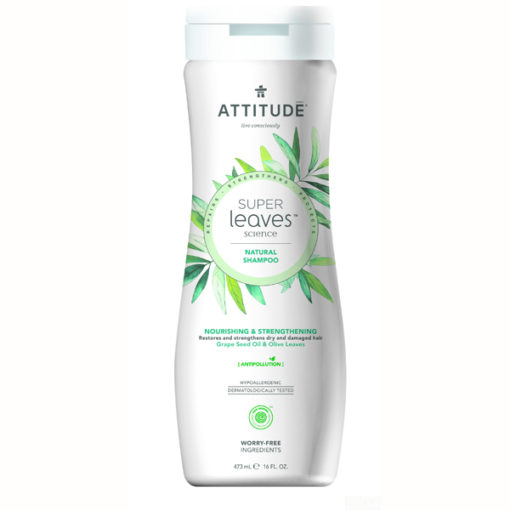Attitude Super Leaves Shampoo Nourishing - De Luierhoek, natuurlijke verzorging