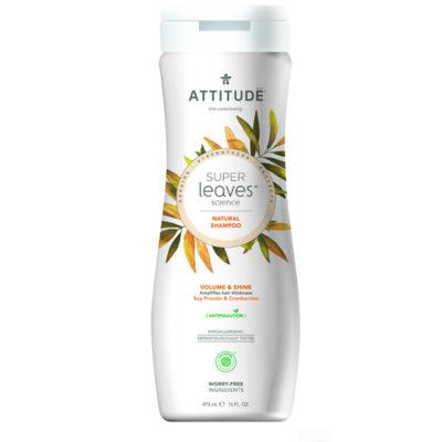 Attitude Super Leaves Shampoo Volume and Shine - De Luierhoek, natuurlijke verzorging