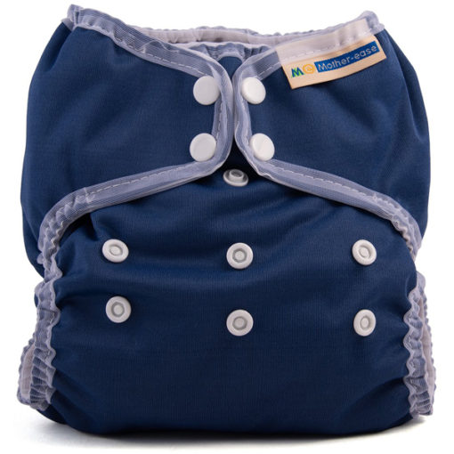 Mother-Ease Duo overbroekje Navy - De Luierhoek, wasbare luiers