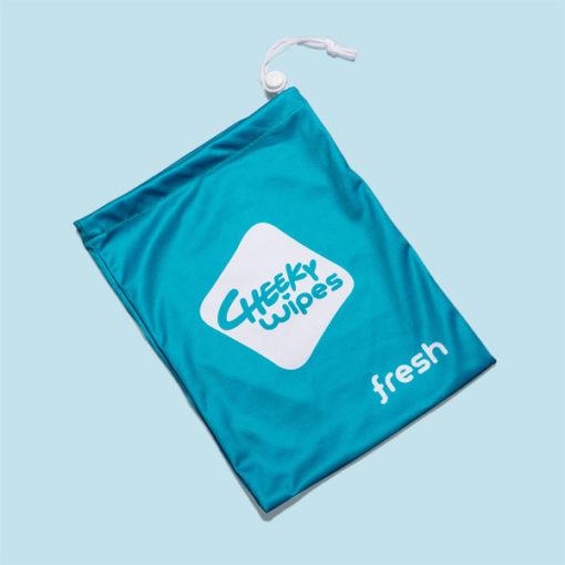 Cheeky Wipes tasje voor propere doekjes - De Luierhoek, wasbare luiers