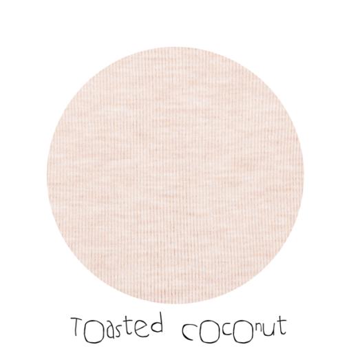 De Luierhoek, ManyMonths Natural Woollies Adjustable String for Mittens, Toasted Coconut