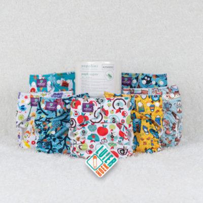 Proefpakket Milovia Pocket - De Luierhoek, wasbare luiers