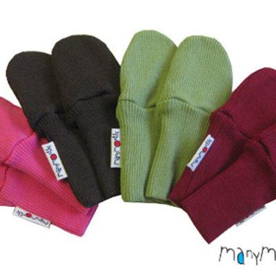 De Luierhoek, ManyMonths Natural Woollies Long Cuff Mittens