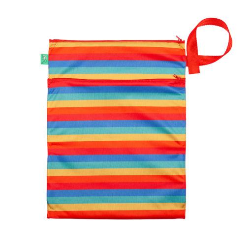 Totsbots wet dry luiertas Rainbow wetbag - De Luierhoek, wasbare luiers