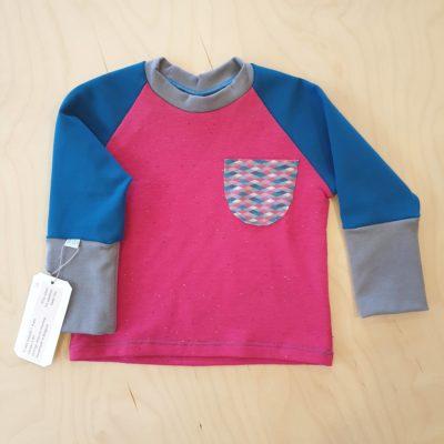 BeM; Shirt Fuchsia blauw