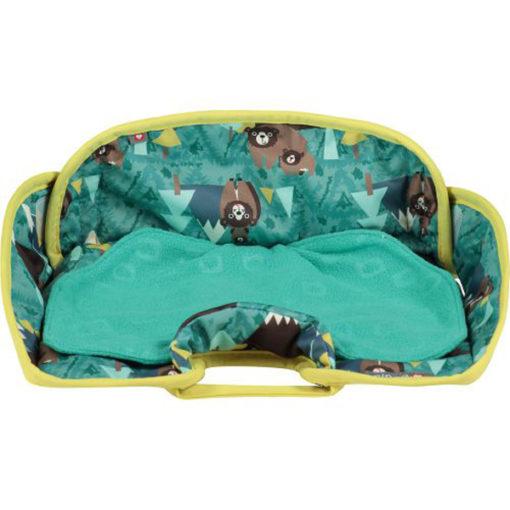 Close Parent Car Seat Protector Bear- De Luierhoek, wasbare luiers