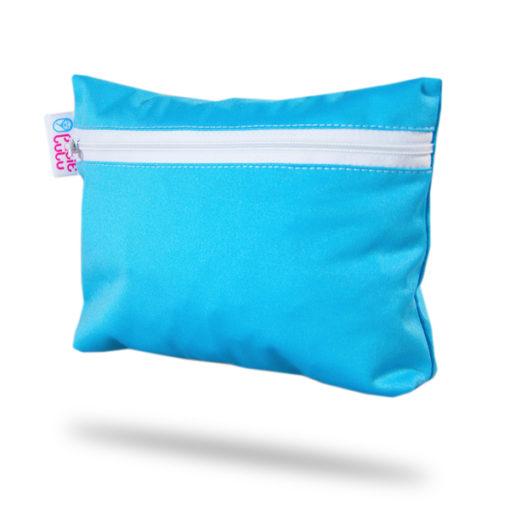 Petit Lulu Small Wetbag - Blue - De Luierhoek, natuurlijke verzorging
