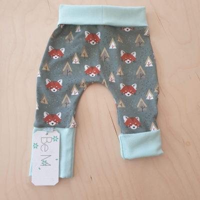 BeM newborn broekje 50-68 Foxes Grey - De Luierhoek