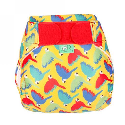 Totsbots zwemluier Bright Yellow Parrots- De Luierhoek, wasbare luiers