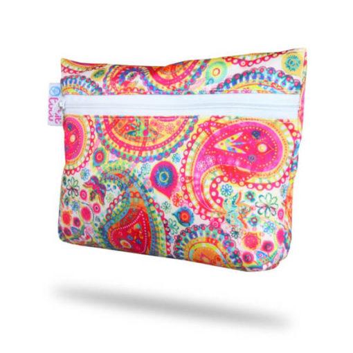 Petit Lulu Small Wetbag - Colourfull Orient - De Luierhoek, natuurlijke verzorging