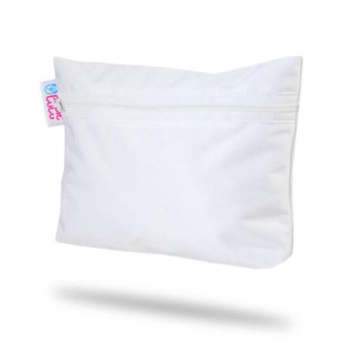 Petit Lulu Small Wetbag - White- De Luierhoek, natuurlijke verzorging