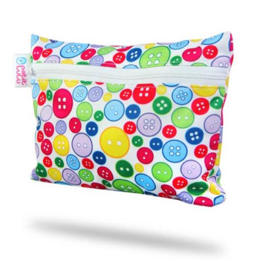 Petit Lulu Small Wetbag - Sewing Buttons - De Luierhoek, natuurlijke verzorging
