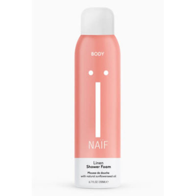 Naïf Grown-ups Linen Shower Foam - De Luierhoek, natuurlijke verzorging